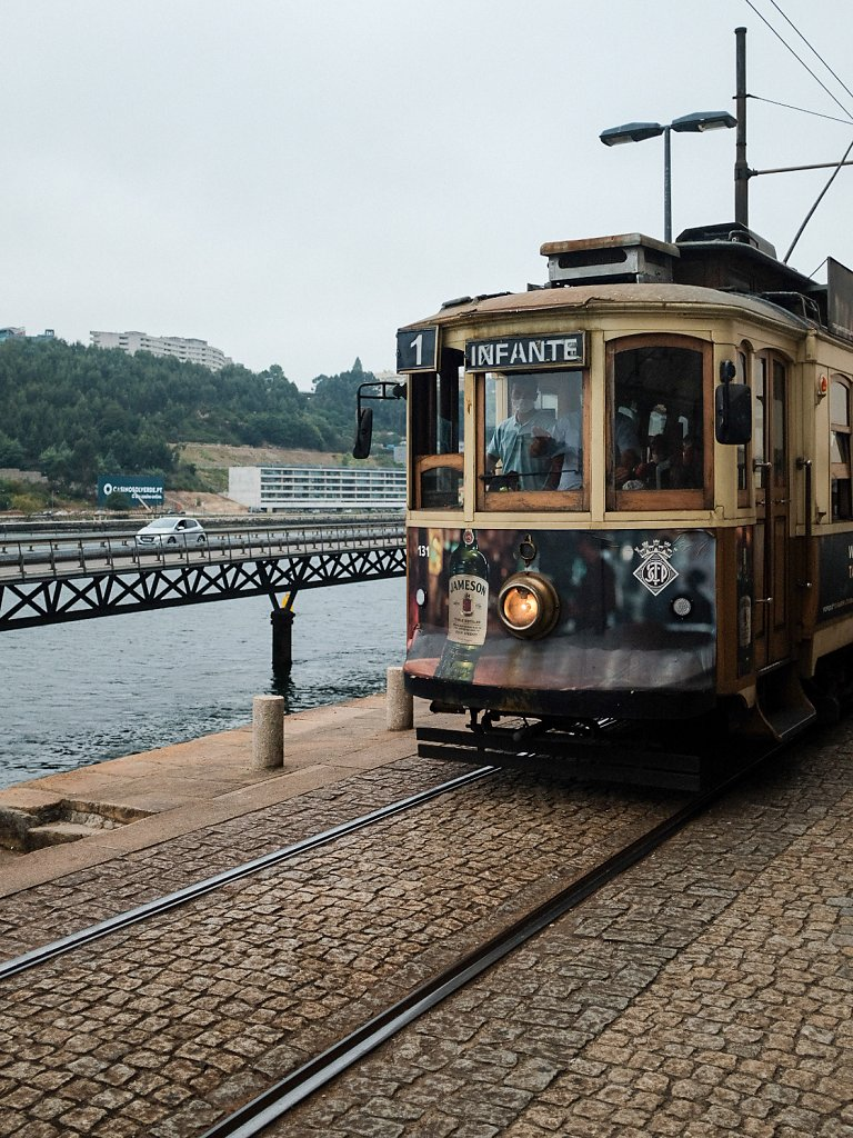 Old tram of porto (Electrico)